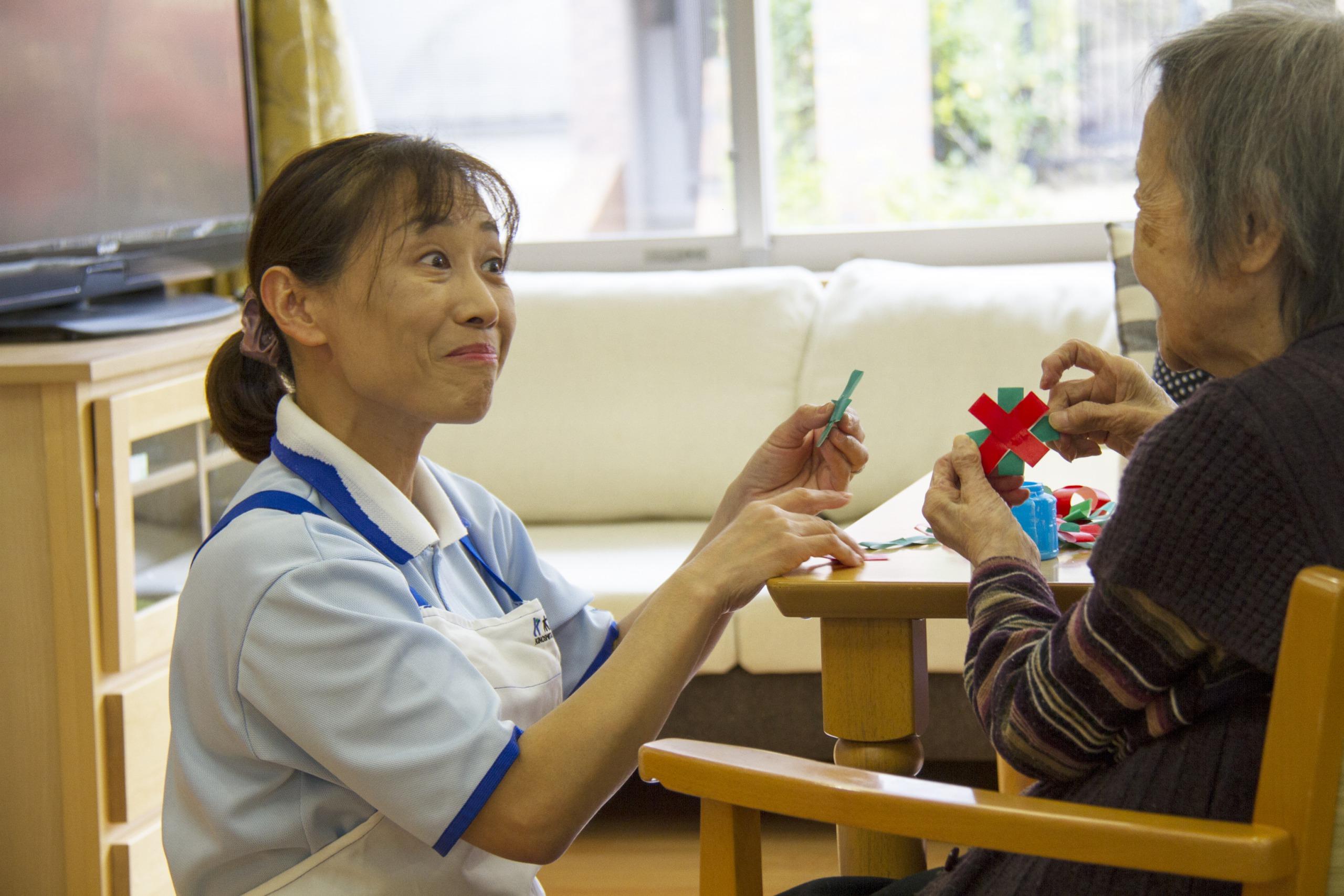 介護付有料老人ホームでの看護師を募集しております。