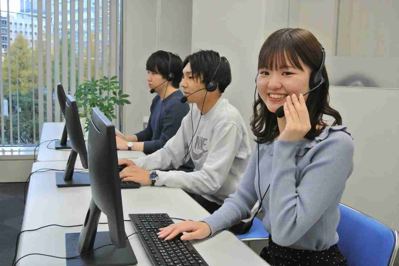 【月収27万以上可】コールセンター 週5日勤務・残業ほぼなし